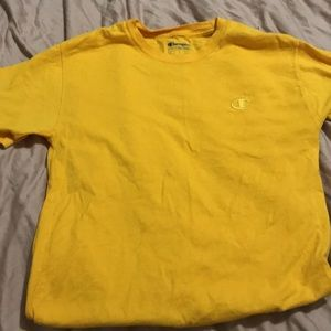 Yellow Champion short sleeve